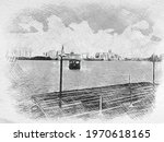 An Illustration Of A Deck And A ...