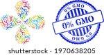 chromosome colored rotation... | Shutterstock .eps vector #1970638205