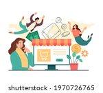 online web internet trading... | Shutterstock .eps vector #1970726765