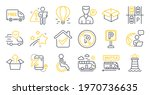 set of transportation icons ... | Shutterstock .eps vector #1970736635