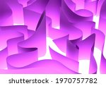 Abstract Wavy Elements On A...