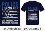 police papa like a normal papa... | Shutterstock .eps vector #1970788535