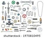 ships and boats mechanisms... | Shutterstock .eps vector #1970810495
