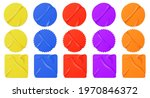 colored paper stickers ... | Shutterstock .eps vector #1970846372