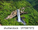 View Of Caracol Waterfall  ...