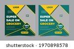 super sale grocery poster ...   Shutterstock .eps vector #1970898578
