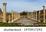 View Of Remained Columns Of...