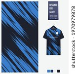 soccer jersey pattern design.... | Shutterstock .eps vector #1970979878