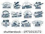 vintage plane isolated vector...   Shutterstock .eps vector #1971013172