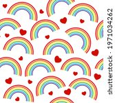 seamless pattern with gay...   Shutterstock .eps vector #1971034262