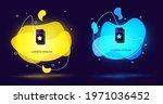 black cinema ticket icon...   Shutterstock .eps vector #1971036452