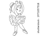 coloring page outline of... | Shutterstock .eps vector #1971057518