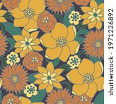 seamless pattern with simple... | Shutterstock .eps vector #1971226892