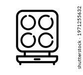 vector waffle iron icon....   Shutterstock .eps vector #1971255632
