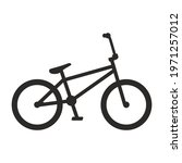 bicycle icon. bike. bmx. vector ... | Shutterstock .eps vector #1971257012