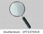 realistic magnifier. escape... | Shutterstock .eps vector #1971373415