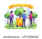 world environment day with... | Shutterstock .eps vector #1971506342