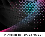 black abstract wavy background... | Shutterstock .eps vector #1971578312