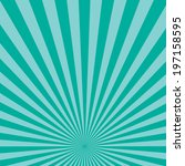 blue color burst background.... | Shutterstock .eps vector #197158595