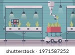 smart farming cartoon...   Shutterstock .eps vector #1971587252