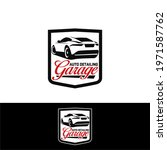 auto detailing service logo... | Shutterstock .eps vector #1971587762