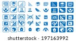 set of logistic icons | Shutterstock .eps vector #197163992