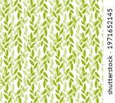 seamless pattern wavy twigs...   Shutterstock .eps vector #1971652145