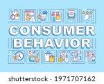 consumer behavior word concepts ...