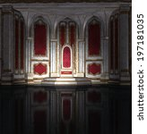 Illustration Of A Throne Room