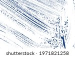 grunge texture. distress indigo ... | Shutterstock .eps vector #1971821258