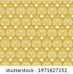 modern floral art deco seamless ... | Shutterstock .eps vector #1971827252