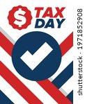 national tax day in the united... | Shutterstock .eps vector #1971852908