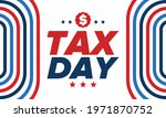 national tax day in the united... | Shutterstock .eps vector #1971870752