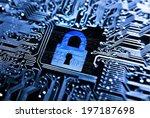 Security Lock Symbol On...