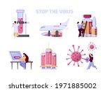 covid vaccination.... | Shutterstock .eps vector #1971885002