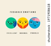 various round feedback emotions.... | Shutterstock .eps vector #1971908618