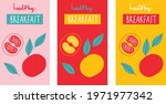 fruits logo set for products ... | Shutterstock .eps vector #1971977342