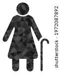 triangle grandmother polygonal... | Shutterstock .eps vector #1972087892