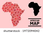 vector covid 2019 mosaic map of ...   Shutterstock .eps vector #1972094042