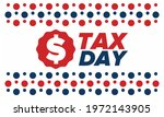 national tax day in the united... | Shutterstock .eps vector #1972143905
