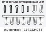 buttonhole flat sketch vector... | Shutterstock .eps vector #1972224755