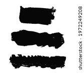 vector set with black oil paint ... | Shutterstock .eps vector #1972249208