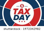 national tax day in the united... | Shutterstock .eps vector #1972342982