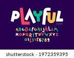 playful style font design ... | Shutterstock .eps vector #1972359395