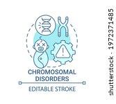 chromosomal disorders blue... | Shutterstock .eps vector #1972371485