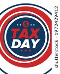 national tax day in the united... | Shutterstock .eps vector #1972429412