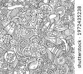 cartoon doodles nautical...   Shutterstock .eps vector #1972435238