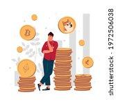 stock crypto abstract concept...   Shutterstock .eps vector #1972506038