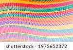Light Motley Striped Wallpaper. ...