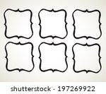 ornamental penmanship... | Shutterstock .eps vector #197269922
